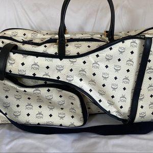 Vintage MCM Travel Tennis Shoulder Bag